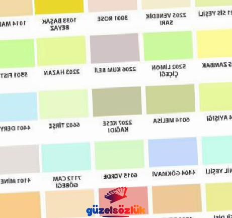 Pastel Renkler Nelerdir?